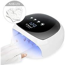 Lámpara LED UV Uñas OVinna 52W Secador de Uñas para Manicura/Pedicura con
