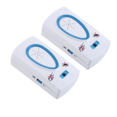 HLMMM Ultraschall Elektronische Mückenschutz Repeller Elektronische Maus Nützliche Stecker Weiß Pest Ratte Moskito Insekt Nagetier Kontrolle