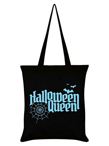 Grindstore Tragetasche Trick Or Treat Halloween Queen 38 x 42 cm schwarz