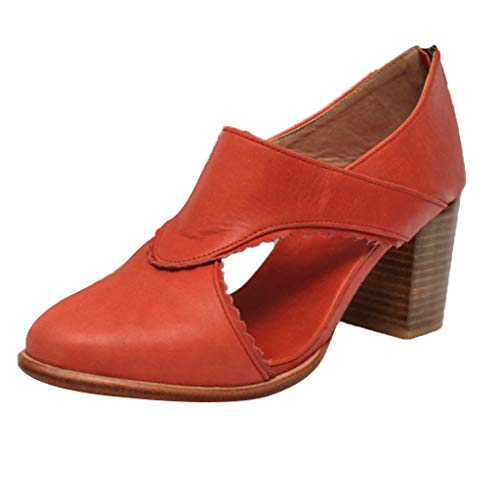 LANSKRLSP Scarpe Tacco Donna Eleganti Plateau Chiuse Estate Traspirante Heels 7cm Moda Stivaletti Comode Sandali