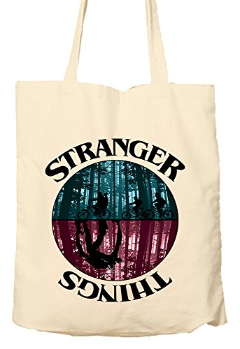 Stranger Things - Tote Bag, Natural Shopping Bag, Environmentally Friendly