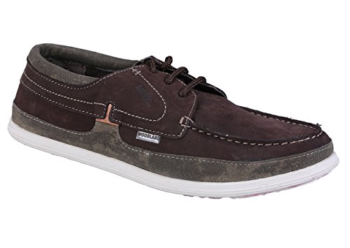 Woodland Men's Rbbrwn Sneakers - 9 UK/India (43 EU)(GC 2173116)  available at amazon for Rs.1500