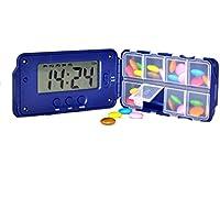 TabTime Super 8 MII, Parkinsons Pillenspender, Pillenbox, Medikamentenerinnerung, Elektronische Pillenbox mit... preisvergleich bei billige-tabletten.eu