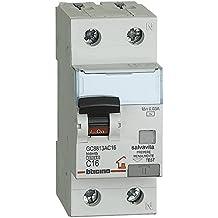 BTicino GC8813AC16 BTDIN Interruttore Magnetotermico Differenziale 1P+N, 4.5kA, Idn=0,03A, In=16A