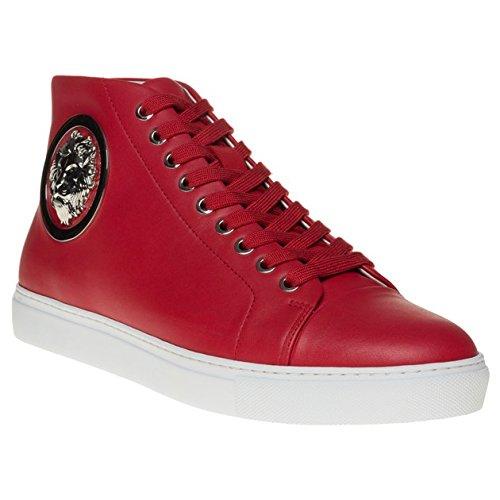 Versus Lion Hi-Top Uomo Sneaker Rosso