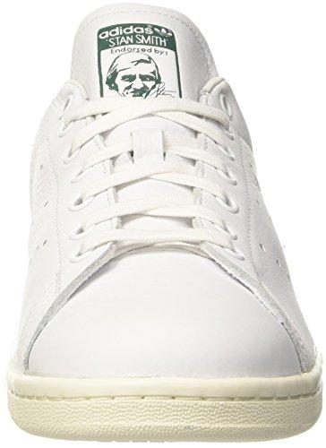 adidas Herren Stan Smith Sneaker Elfenbein (Ftwr White/ftwr White/collegiate Green)