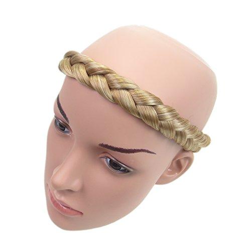 Alle Farben sind erhältlich, Blond Gemischt Stämmige Geflochtene Haarband Haarverlängerung