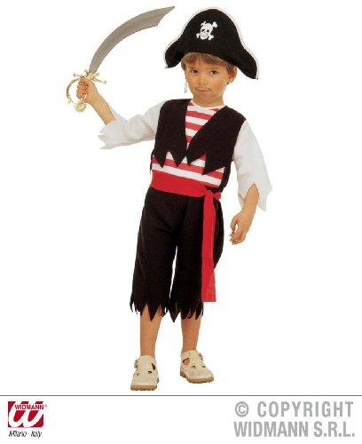 Preisvergleich Produktbild Piratenkostüm - 110cm 3-4 Jahre