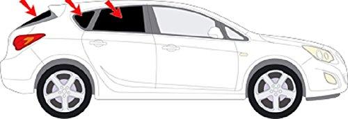 Preisvergleich Produktbild Autosonnenschutz Scheibentönung Opel Astra J m. GTS 5-Türer Bj.09-15 Art.57945-5