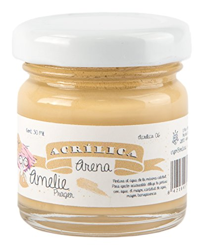 Amelie Prager AMA-06 Pintura Acrílica, Arena, 30 ml