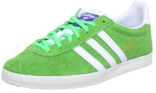 Adidas Originals Gazelle OG q23178 Sneaker Uomo Grün (GREEN ZEST S13 / RUNNING WHITE FTW / METALLIC GOLD)