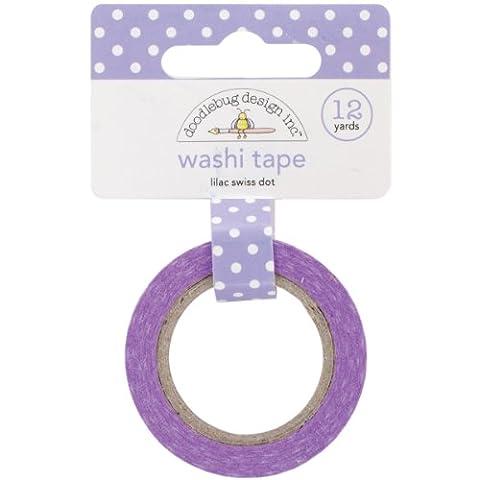 Doodlebug 15 mm Swiss Dot Washi Tape,
