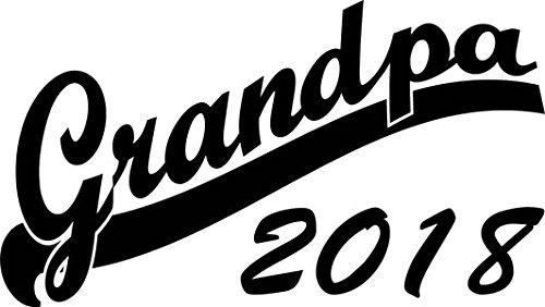 Mister Merchandise Herren Men T-Shirt Grandpa 2018 Tee Shirt bedruckt Grün