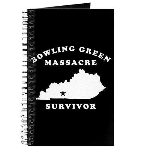 (CafePress–Bowling Green Massaker Survivor–Spiralbindung Journal Notebook, persönliches Tagebuch, Aufgabe Tagebuch)