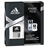 adidas Duftset Dynamic Pulse Aftershave 100 ml + Showergel 250 ml + Voucher, 350 ml
