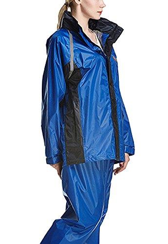 Test Icegrey Erwachsenen Wasserabweisend Regenanzug Jacke   Hose ... 4240083a8e
