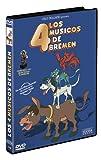 Los cuatro musicos de Bremen  (DVD) dibujos animados Cruz Delgado