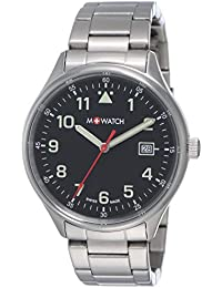 M-WATCH Aero 41 Analog Black Dial Men's Watch-WBL.40220.SJ