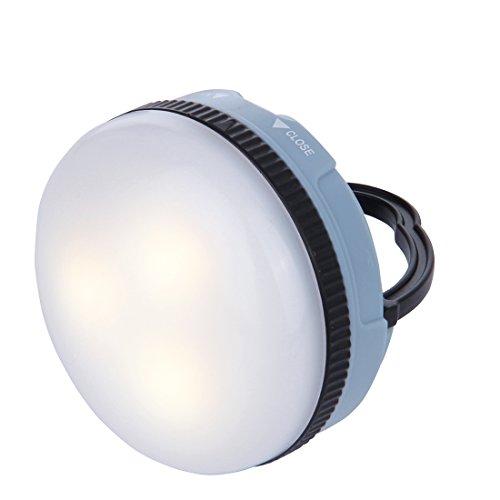 10T MCL 150 - kleine Camping-Lampe mit 150 Lumen | 3 LEDs (5050 SMD) | 71 g | Taschenlampe | blau
