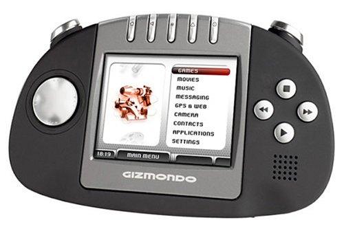 Ansicht vergrößern: Gizmondo - Konsole, black Smart Adds