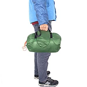 41BXQ6yAvGL. SS300  - WINOMO Stuff Sack Nylon Compression Sacks Bag Sleeping bag Stuff Storage Compression Bag for Camping(Green)