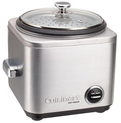 Cuisinart CRC800E Cuiseur à riz et céréales multifonctions, 12 personnes, Cuisson vapeur