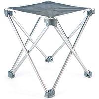 JYKOO Outdoor-Aluminium-Klapp Hocker-Travel Portable Hocker Stuhl Angel Stuhl Sketch Stuhl, Zwei Größen, DREI Farben,Gray,L preisvergleich bei kinderzimmerdekopreise.eu