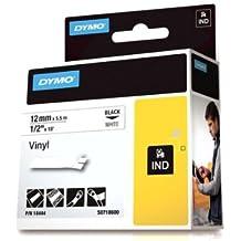 DYMO 12mm RHINO Coloured vinyl - Cintas para impresoras de etiquetas (D1, Vinilo, 1,2 cm, 5,5m, Caja, 3,4 cm)