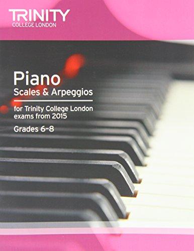 Piano Scales & Arpeggios from 2015 Int-5 (Piano Exam Repertoire)