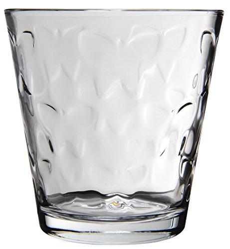 Novastyl 8013606.0Mayotte vaso forma baja cristal transparente 8,4