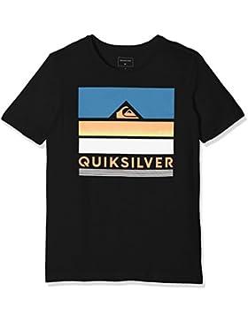 Quiksilver Classic Loud Places Camiseta, Niños, Antracita (Anthracite - Solid), XS/8