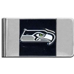 NFL Seattle Seahawks Steel Money Clip