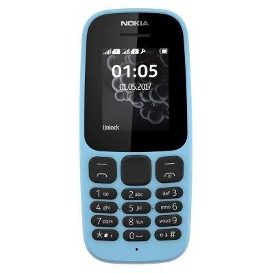 Nokia 105 blue Dual SIM Smartphone