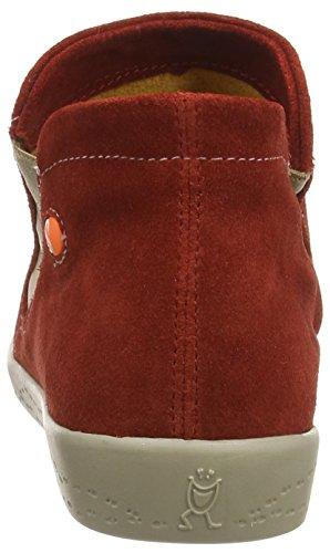 Softinos Inge, Damen Kurzschaft Stiefel Rot (red (light Grey Sole))