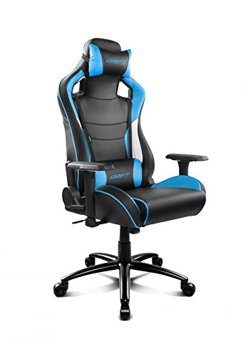 Drift DR400BL – Silla gaming, color negro y azul