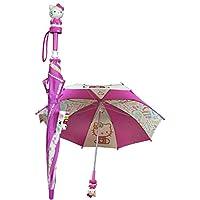 "Sanrio Hello Kitty 24"" Kids Umbrella 3d Hello Kitty Figurine ""Colors"""