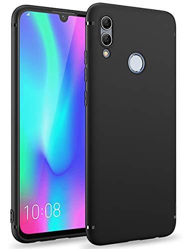 BENNALD Hülle für Honor 10 Lite Hülle, Soft Silikon Schutzhülle Case Cover - Premium TPU Tasche Handyhülle für Huawei Honor 10 Lite (Schwarz,Black)