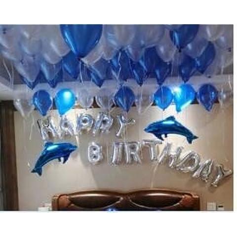 Per adulti e bambini della festa di compleanno di lamina di alluminio lettere pacchetto a palloncino della creatività romantica suitor ,1 decor e arredi e materiali di consumo