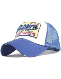 QUINTRA Embroidered Summer Cap Mesh Hats for Men Women Casual Hats Hip Hop  Baseball Caps f48631927742