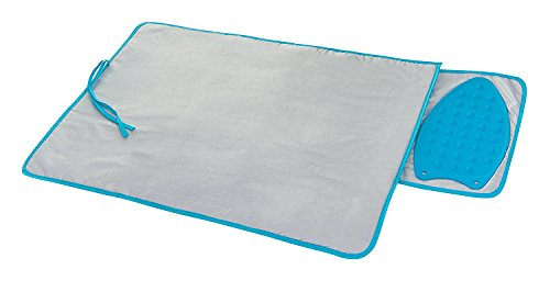 Mat With Built In Silicone Heat Resistant Iron Rest Home - Size: 82cm X 48cm ()