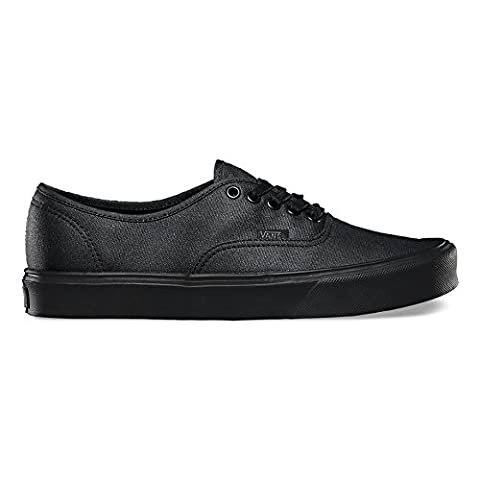 Vans AUTHENTIC LITE (waxed) black Fall Winter 2015 - 3.5