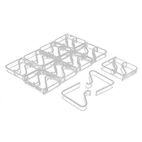 (sourcing map 20Stk Tischdecke Halter Tischtuchklammer Abdeckung Klemmhalter 3.5-5cm Dicke DE)