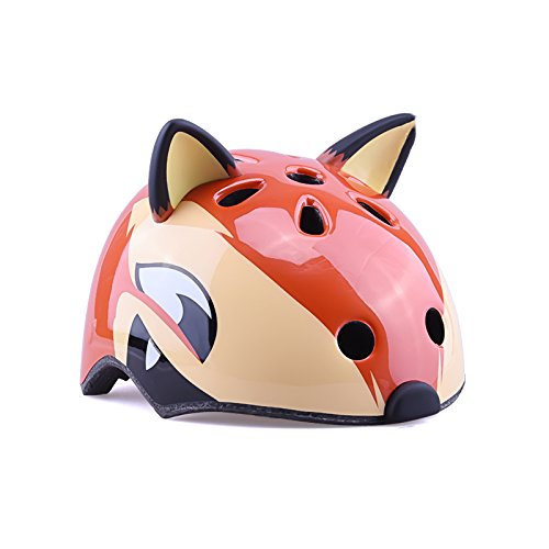 YXINY TH-007 Children Helmet High-grade PC+EPS 3D Cartoon Animals