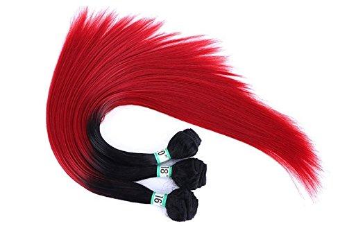 Premium Now Yaki Platine tissage cheveux humains 40,6 cm