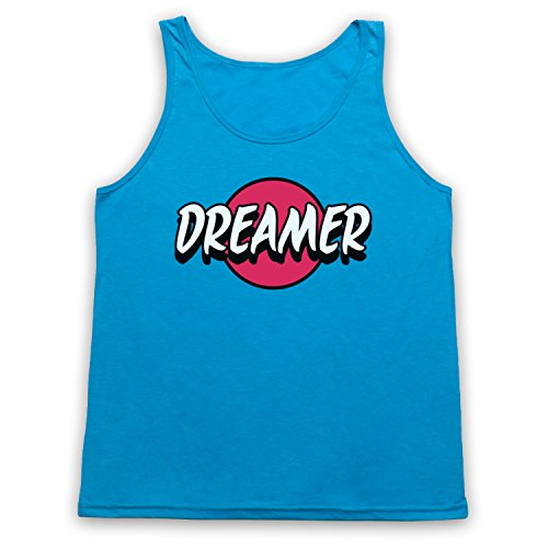 Dreamer Hipster Tank-Top Weste Neon Blau
