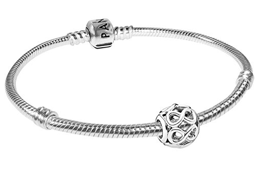 Pandora Armband Starterset Unendlichkeit 19 cm 08051-19 (Set Pandora Mit Armband Charms)