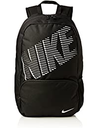 Nike Classic Turf - Mochila, color negro / blanco