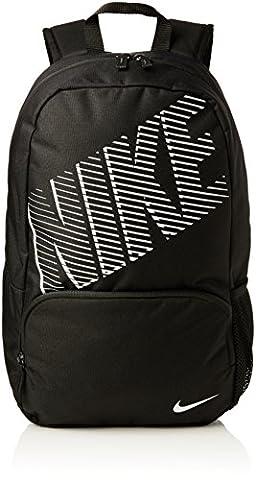 Nike Classic Turf Backpack - Black/Black/White, One