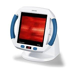 Sanitas SIL 45 Infrarot-Wärmestrahler (Verspannungen, Infrarotlampe für die Behandlung von Erkältungen)