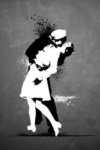 Wars End Kiss (Wars End - Kiss Poster - 91.5x61cm)